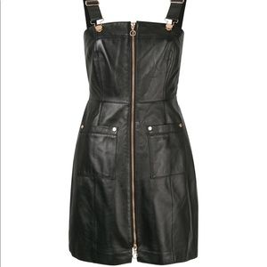 Alice McCall Cherry On Baby Leather Dress